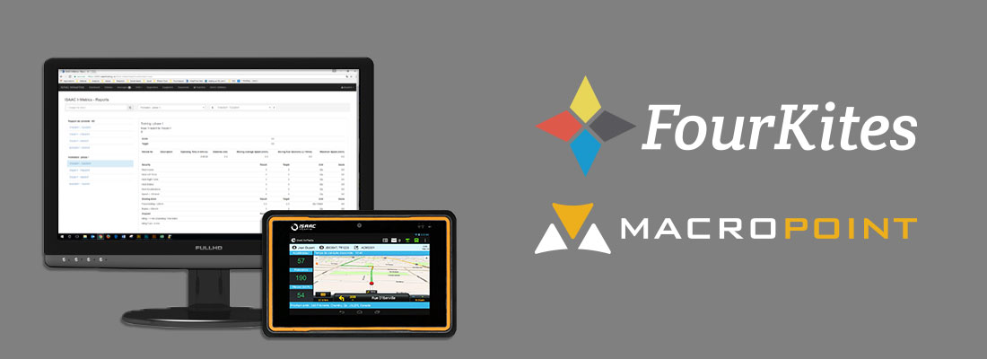 ISAAC Solutions Are Now Integrated with FourKites and MacroPoint