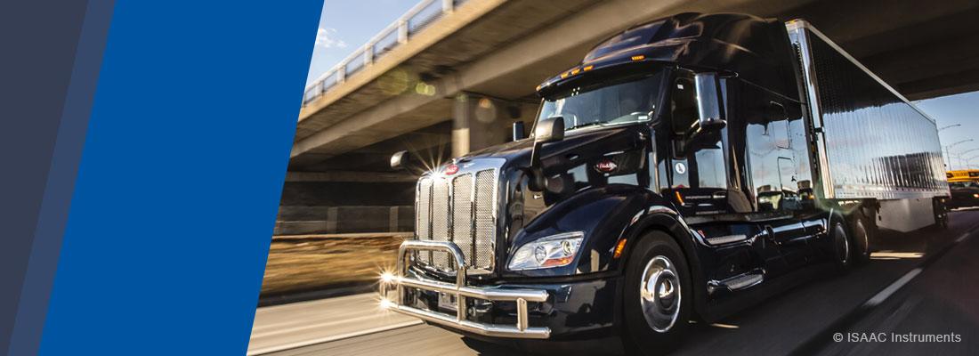 Camion lourd sur la route