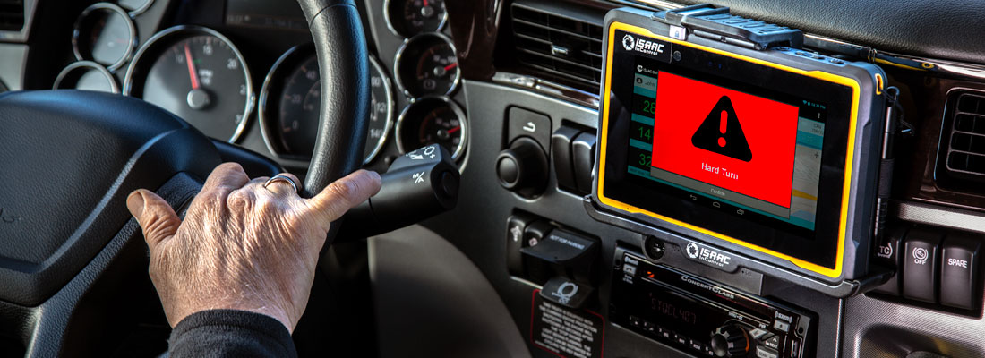 in-cab technology for real-time feedback to driver