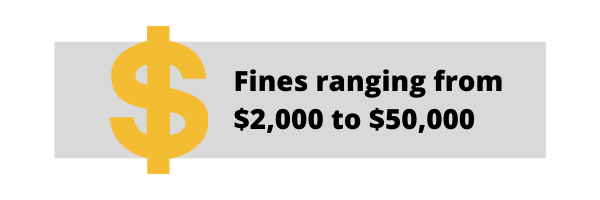 fines wheel-off accidents